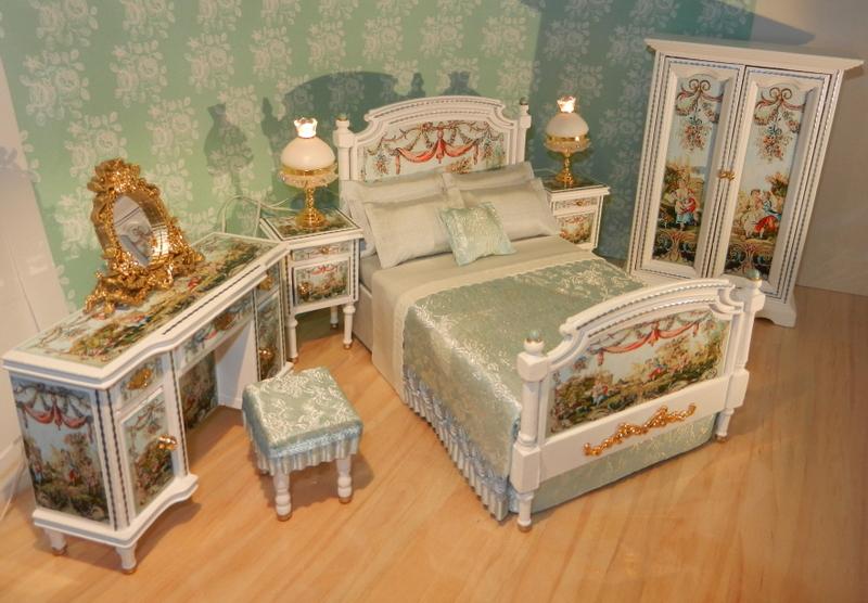 Blue Duchess bedroom